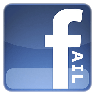 Facebook Fail Logo